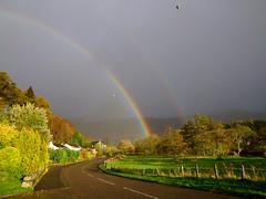 "Autumn rainbow Killin (nz_willowherb) Tags: november holiday rain sport see scotland flickr day tour country perthshire visit tourist highland views destination activity visitor willowherb killin to"" ""go visitkillin seekillin gotokillin"
