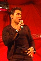 Chico performing in Jersey (Up Your Ego) Tags: christmas music lights singing entertainment jersey reality chico xfactor scoopt