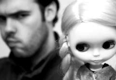 bad (hazymat) Tags: me doll mat angry blonde kenner blythe np cleo