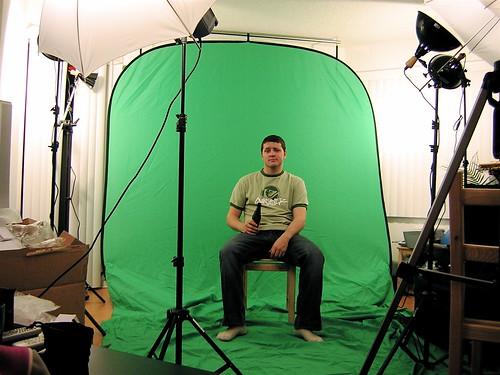 Video Blog Green Screen