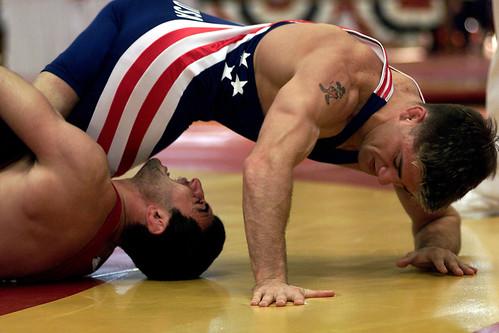 Iu wrestling n try
