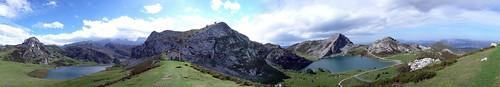 Covadonga Lakes Panorama