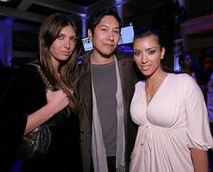 Brittny Gastineau with Kim Kardashian