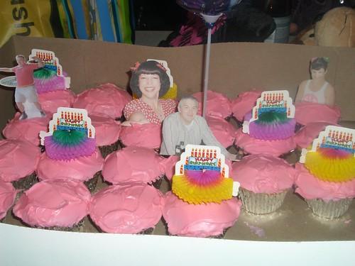 Daria & Andrew cupcakes