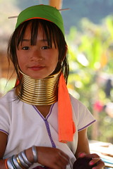 Long Neck Girl (maapu) Tags: ladies vacation people holiday neck thailand long burma karen longneck myanmar brass burmese chin bodymodification hilltribe longnecktribe karentribe birmanie kayan interestingness223 i500 maapu mauroof chiangmae