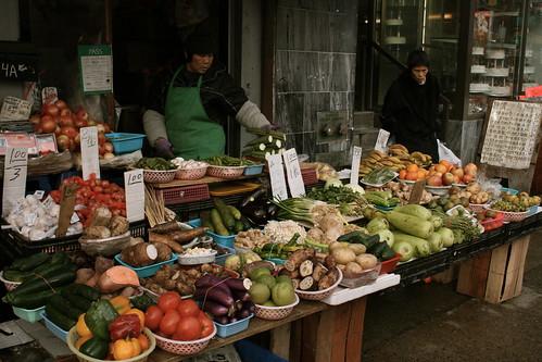 street veggies