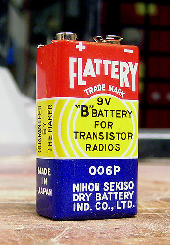 Flattery, the Nine Volt Battery