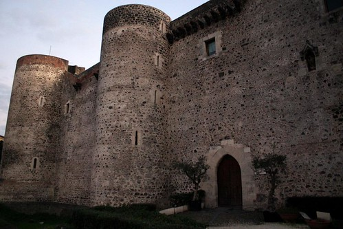 The Medieval Castle in Catania