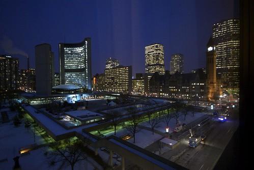 Winter City lights up