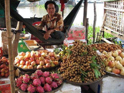 Kompong Chhang market