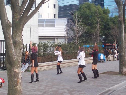Dancing ganguros