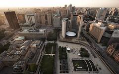 toronto's city hall (wvs) Tags: city toronto ontario canada downtown cityhall ddoi birdsview