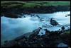 Peaceful and calm (Móri) Tags: longexposure sea green colors lava iceland stream peace tide great calm interestingness162 i500 abigfave ©móri 162onthursdayseptember28