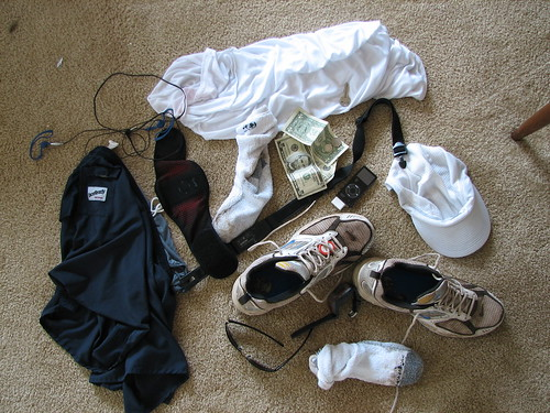 Tips of what to wear while running- Running Gear- running shorts, running shirts, running shoes, music
