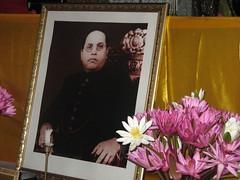 Ambedkar on shrine
