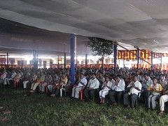 Dhammakranti meditation pandal 1