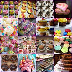 Mmmmm..... Cupcakes (Dazed81) Tags: dessert cupcakes baking fdsflickrtoys yum mosaic cupcake sprinkles sweets mmmm frosting confection fairycakes