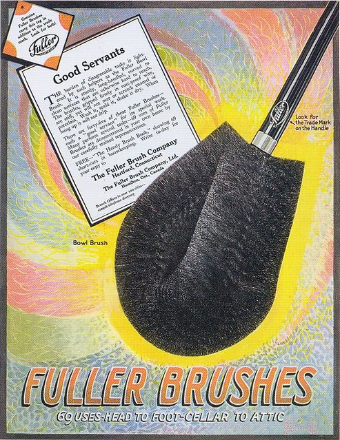 Fuller Brushes ad, 1921a