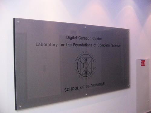Digital Curation Centre, Prifysgol Caeredin