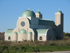 Coptic Orthodox Church in the fall (V'ron) Tags: copticorthodoxchurch