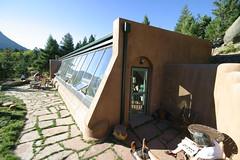 Passive Solar Tire House 2