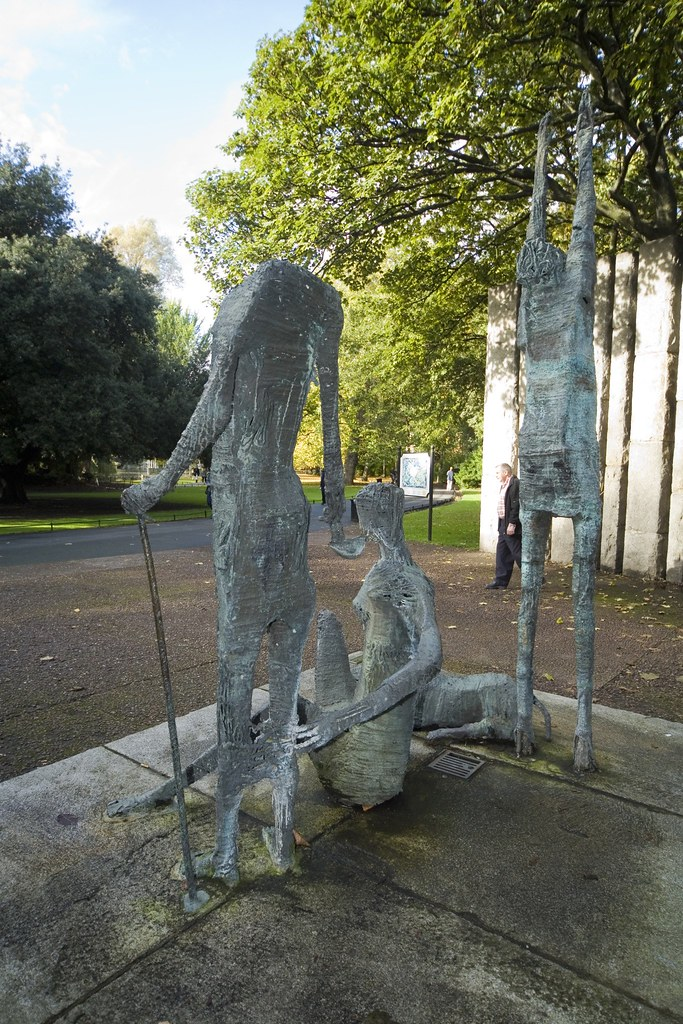 Monument In Stephens Green