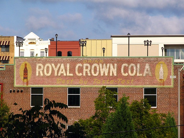 Drink Royal Crown Cola sign, Maryville, TN