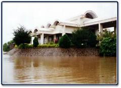 Mahavihara in rains