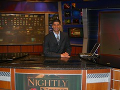 Jas on the NBC News desk (Jason Salas) Tags: nyc news nbc kuam rtnda