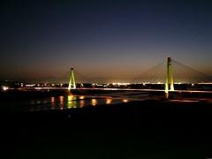 十勝川大橋夜景