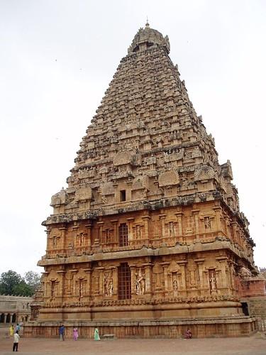 Tanjore Periya Kovil - Towering Gopuram