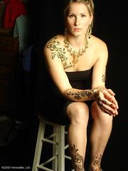 Henna on Model