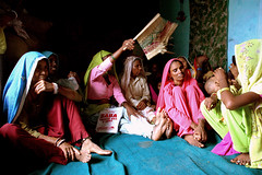 The women of Akbarpura (lecercle) Tags: people india rural women credit rajasthan ngo microfinance alwar selfhelpgroups akbarpura ibtada