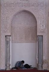 Study Niche (josiehen) Tags: mosque study cairo mihrab amribnalas