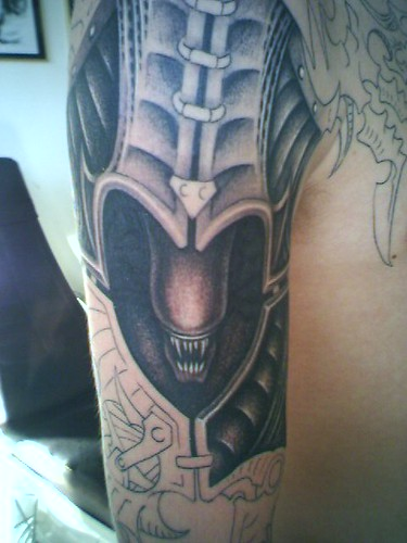 biomechanic tattoo Tattoos Gallery