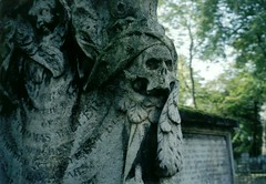 Death Comes for Thomas Miller (richardr) Tags: old city uk greatbritain trees england urban london english heritage history abandoned cemetery grave graveyard stone geotagged death skull europe european unitedkingdom bokeh britain decay sinister headstone tomb tombstone historic mausoleum cherub gravestone mementomori british lichen macabre islington bunhillfields europeanunion necropolis decayed decaying dilapidated burialground williamblake putti nonconformists sepulchre historicalplaces danieldefoe dissenter taphophilia dissenterscemetery thomasmiller tindalsburialground bunhillfieldscemetery geo:lon=0088663 geo:lat=51523297
