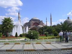 Ayasofya mosque - İstanbul (cнιcaυrвana) Tags: church turkey mosaic minaret türkiye iglesia mosaico istanbul mosque mezquita İstanbul turquia emperor estambul turquía justinian byzantium ayasofya santasofía santasofia minarete emperador bizantio