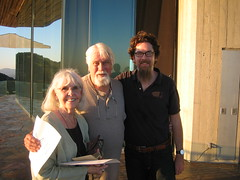 Nat and the Hansen Grandparents (Charles P. Everitt) Tags: wedding rehearsal nat melody grandparents goatees
