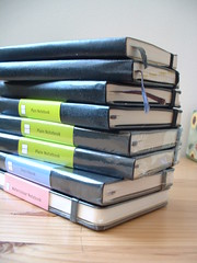 Pile of Moleskines