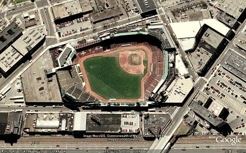 GoogleEarth_Fenway_Park_Boston      ☆☆☆Red Sox win Matsuzaka sweepstakes