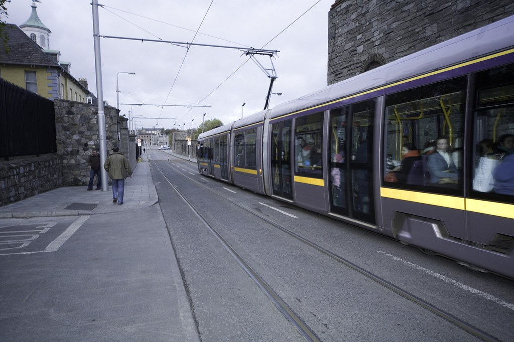 LUAS TRAM - DUBLIN