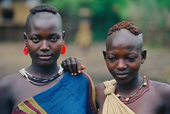 AFRICA - Beautiful (BoazImages) Tags: africa girls beautiful smile face pretty tribal omovalley ethiopia indigenous omo