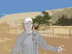 derek's trip (Digital Introspect) Tags: california lost coast highway digitalart central hills 46 robles posa sanacruz bound4glory1984 digitalmediaart matthewchilders