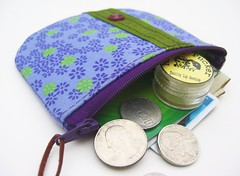 Mueda Pouch ~ Purpreen (olilo-designs) Tags: green purple wallet purse pouch etsy hangbag olilodesigns mueda