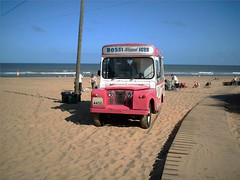 Hemsby Ice Cream Van. My first ever Flickr Post. (Richie Wisbey) Tags: pink blue sea sky cloud sun holiday beach sand flickr waves dune rich 1966 richie richard boardwalk landrover icecreamvan hemsby landroverseriesii iia picturesof pictureof hemsbygap wisbey richardwisbey richiewisbey richwisbey wisbeyflickr wisbeyphotography richiewisbeycollection