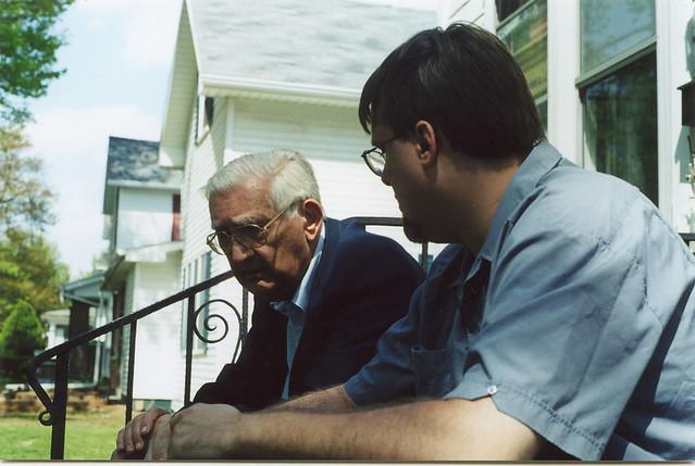 Poppa and Aaron, 2002