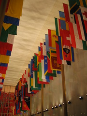 Hall of Nations flags