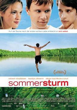 Tormenta de verano cartel película
