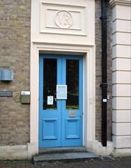 VR (JudyGr) Tags: door uk blue england london kew guesswherelondon londonguessed royalbotanicgardens decimusburton gwl museumno1 guessedbywhatsthatpicture