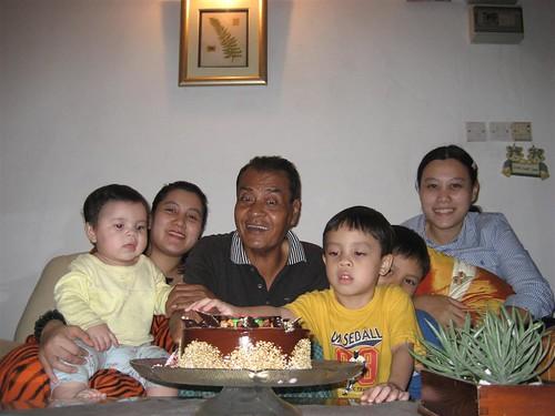 Bapak's burfday